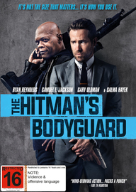 The Hitman's Bodyguard on DVD