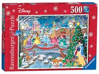 Ravensburger: 500pc Jigsaw Puzzle - Disney Princess Christmas Celebrations