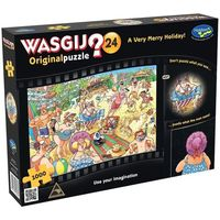Wasgij: Original 24 1000 Piece Jigsaw Puzzle - A very merry holiday image