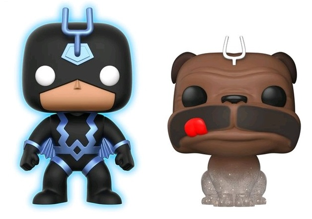 Inhumans - Black Bolt & Lockjaw (Glow/Phasing) Pop! Vinyl 2-Pack
