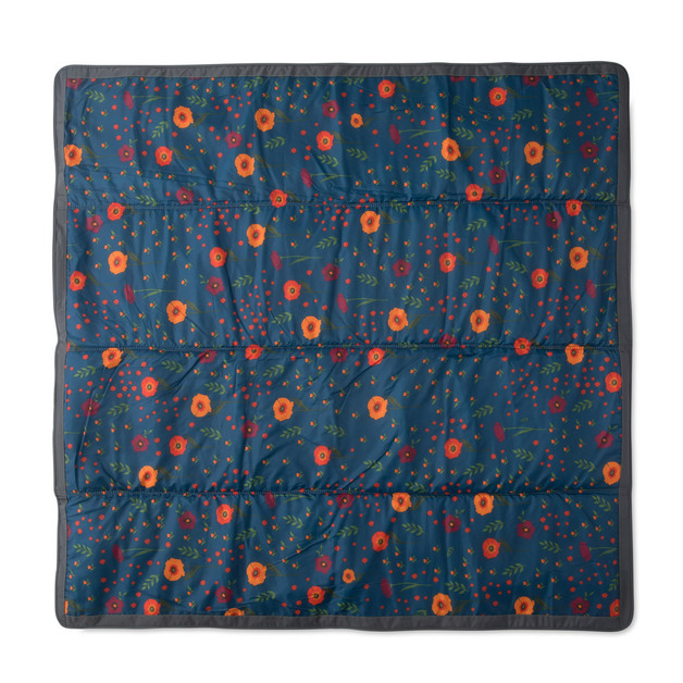 "Little Unicorn: Outdoor Blanket - Midnight Poppy (5"" x 7"")"