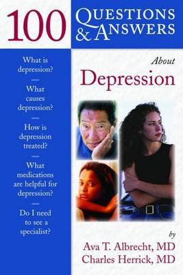100 Questions and Answers About Depression by Ava T Albrecht image