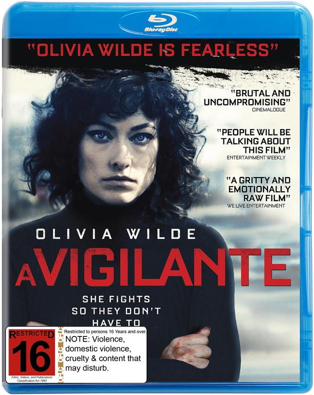 A Vigilante on Blu-ray