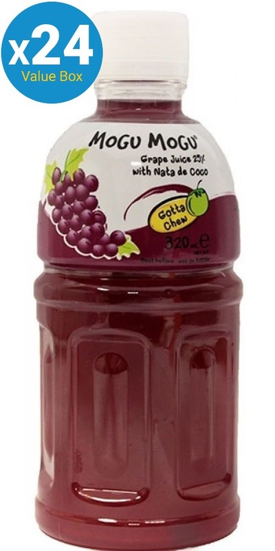 Mogu Mogu (Grape) Drink 320ml - 24pk