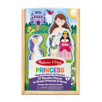 Melissa & Doug: Princess Magnetic Dressup