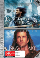 Kingdom Of Heaven / Braveheart - The Essential Collection (2 Disc Set) on DVD