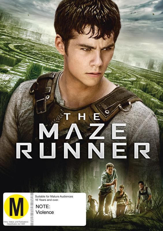 Maze Runner on DVD
