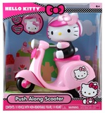 Hello Kitty - Push Along Scooter