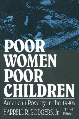 Poor Women, Poor Children by Harrell R Rodgers image