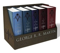 A Game of Thrones Leather-Cloth Boxed Set by George R.R. Martin image