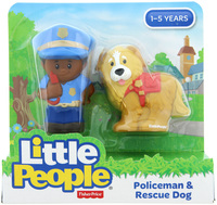 Fisher-Price: Little People - Policeman & Rescue Dog