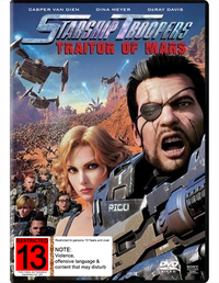 Starship Troopers: Traitor of Mars on DVD