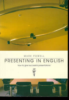 Presenting in English - How to Give Successful Presentations by Mark Powell image
