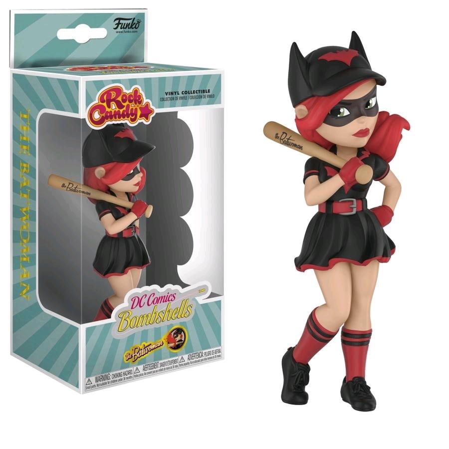 DC Bombshells - Batwoman Rock Candy Vinyl Figure image