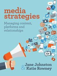 Media Strategies by Jane Johnston image