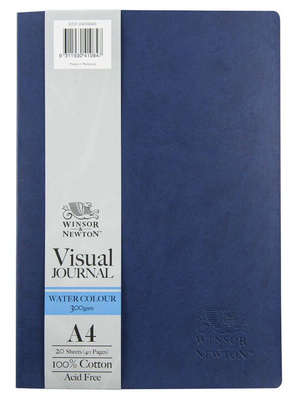 Winsor & Newton: Softcover Watercolour Journal - A4 (300gsm)