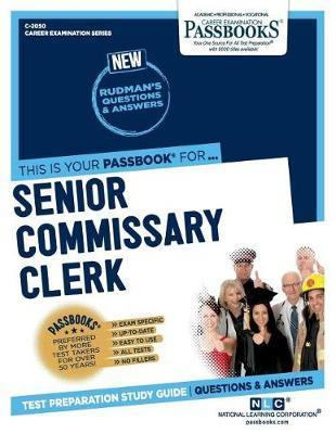 Senior Commissary Clerk by National Learning Corporation