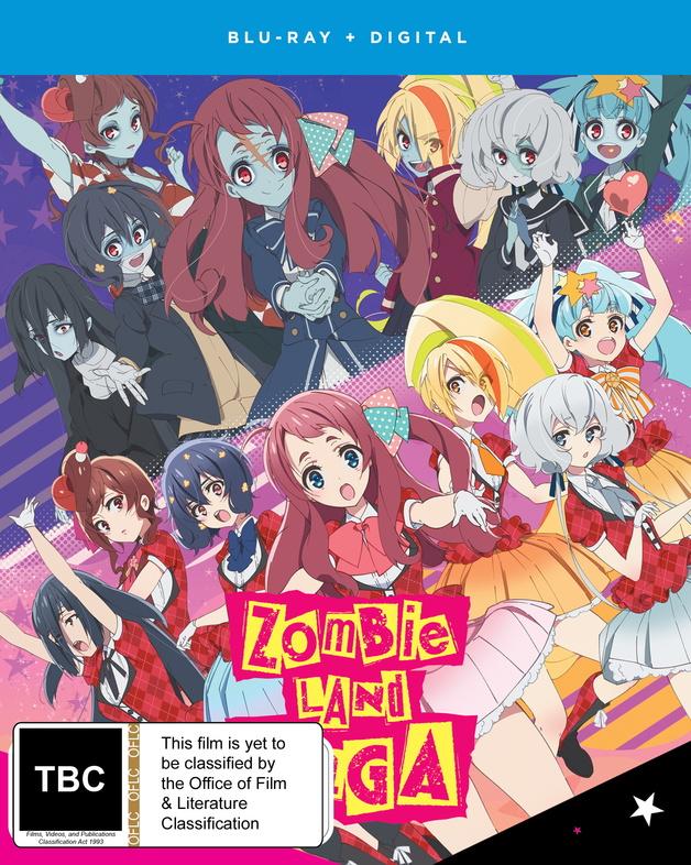 Zombie Land Saga - Season 1 on Blu-ray
