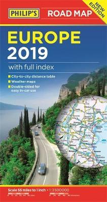 Philip's Europe Road Map by Philip's Maps