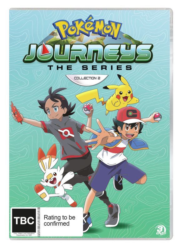 Pokemon Journeys: Collection 2 on DVD
