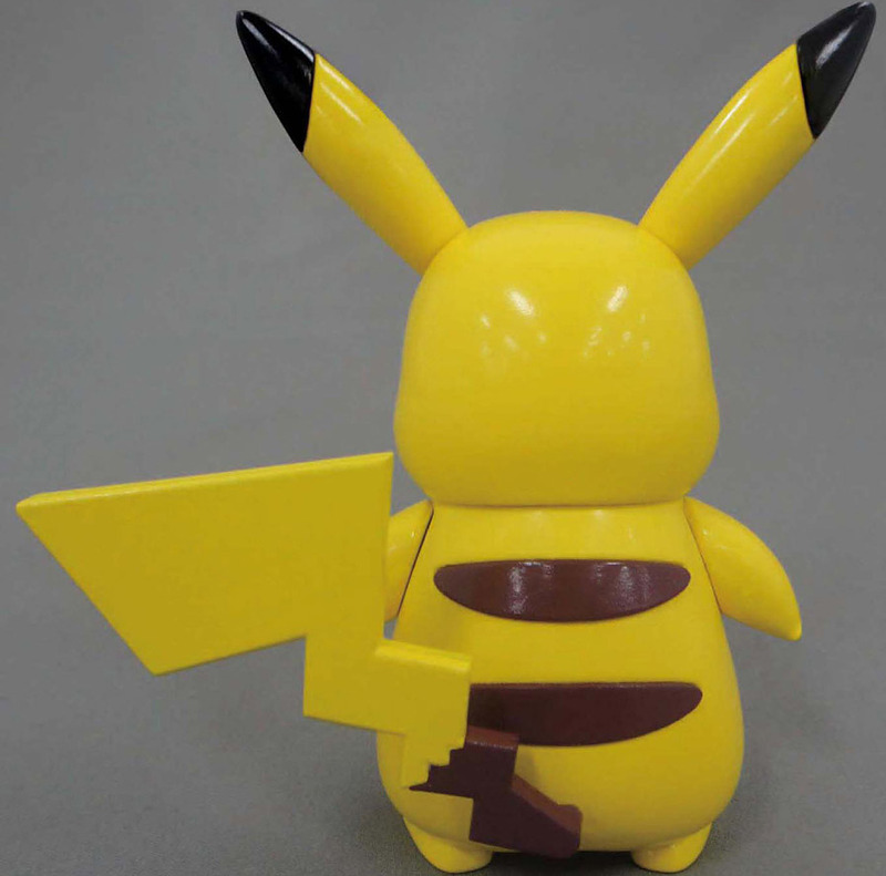 Pokemon Pokepura #19 Pikachu - Model Kit image
