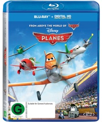 Planes on Blu-ray