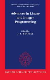 Advances in Linear and Integer Programming by J.E. Beasley image