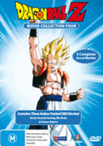 Dragon Ball Z - Movie Collection 4 (Movies 10-12) on DVD