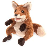 Folkmanis Hand Puppet - Crafty Fox image