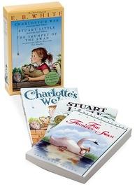 E. B. White Classics Box Set (Charlotte's Web / Stuart Little / Trumpet of the Swan) by E White image