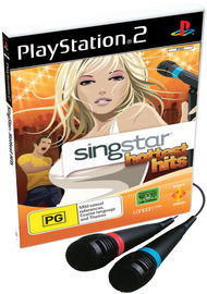 SingStar Hottest Hits with Microphones for PS2 image