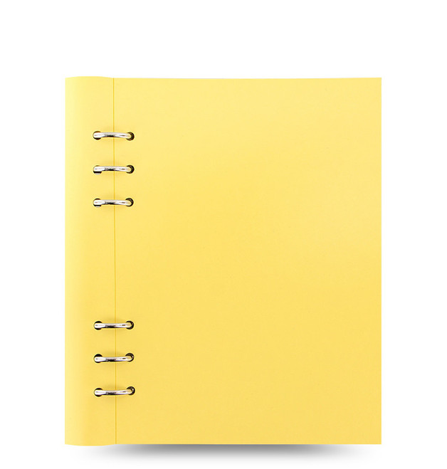 Filofax - A5 Pastels Clipbook - Lemon