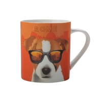 Christopher Vine The Mob International Cities Mug - Rome (370ml)