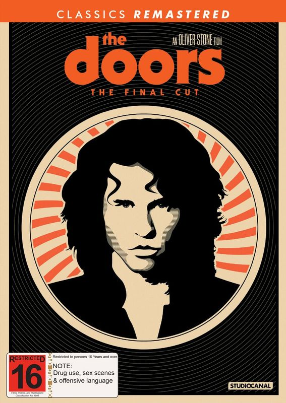 The Doors on DVD