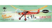 "Lancer 24"" Wingspan Aircraft Model Kit"