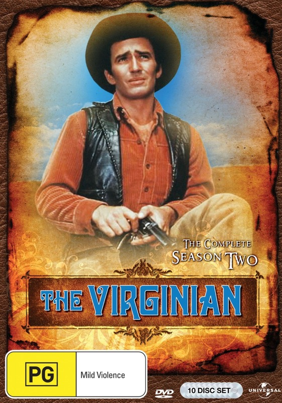 The Virginian - Season Two on DVD