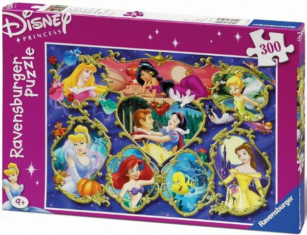 Ravensburger 300 Piece Jigsaw Puzzle - Disney Gallery of Princesses