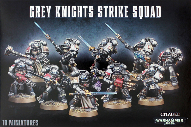 Warhammer 40,000 Grey Knights Strike Squad