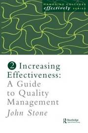 Increasing Effectiveness by John Stone