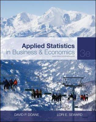 Applied Statistics in Business and Economics by David P Doane