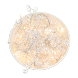 Delight Decor: Chain Electric String Lights - Crystal Chic