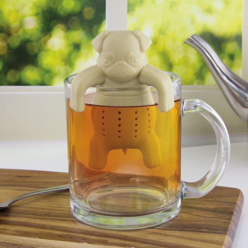 Pug In A Mug Silicone Tea Infuser image
