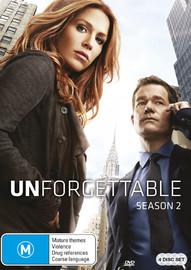 Unforgettable - Season 2 on DVD