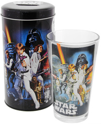 Star Wars Glass in Tin - Classic Design