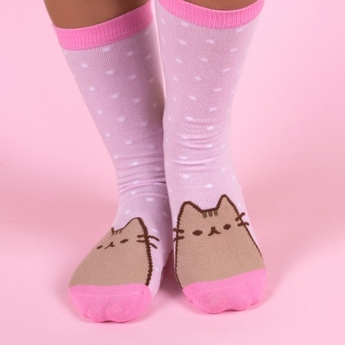 Pusheen the Cat Socks in a Mug - Pusheenicorn image
