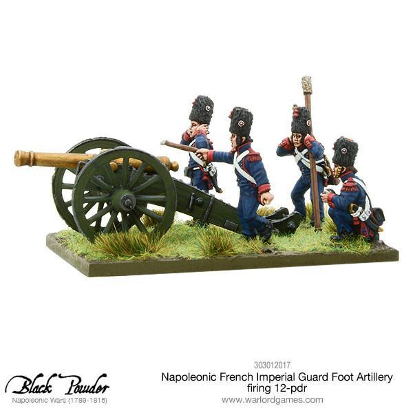 Napoleonic French Imperial Guard Foot Artillery 12 pdr image