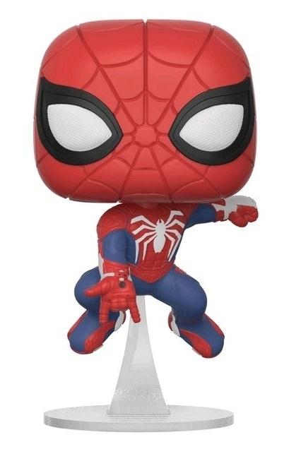 Spider Man Swinging Ver Pop Vinyl Figure At Mighty