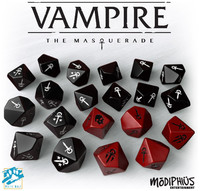 Vampire: The Masquerade - Dice Set (20pc)