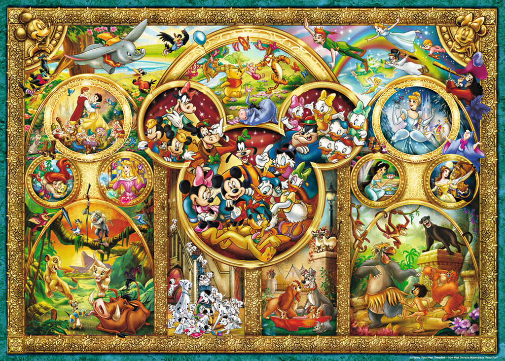 Ravensburger 1000pc Puzzle - The Best Disney Themes image
