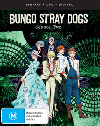 Bungo Stray Dogs - The Complete Second Season on DVD, Blu-ray